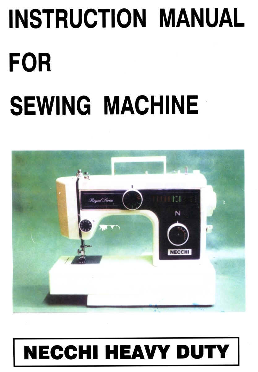 Necchi 4795 Sewing Machine Owners Manual Sewusa Threading Diagrams Instruction And Service Manuals Rh Necchimanuals Com